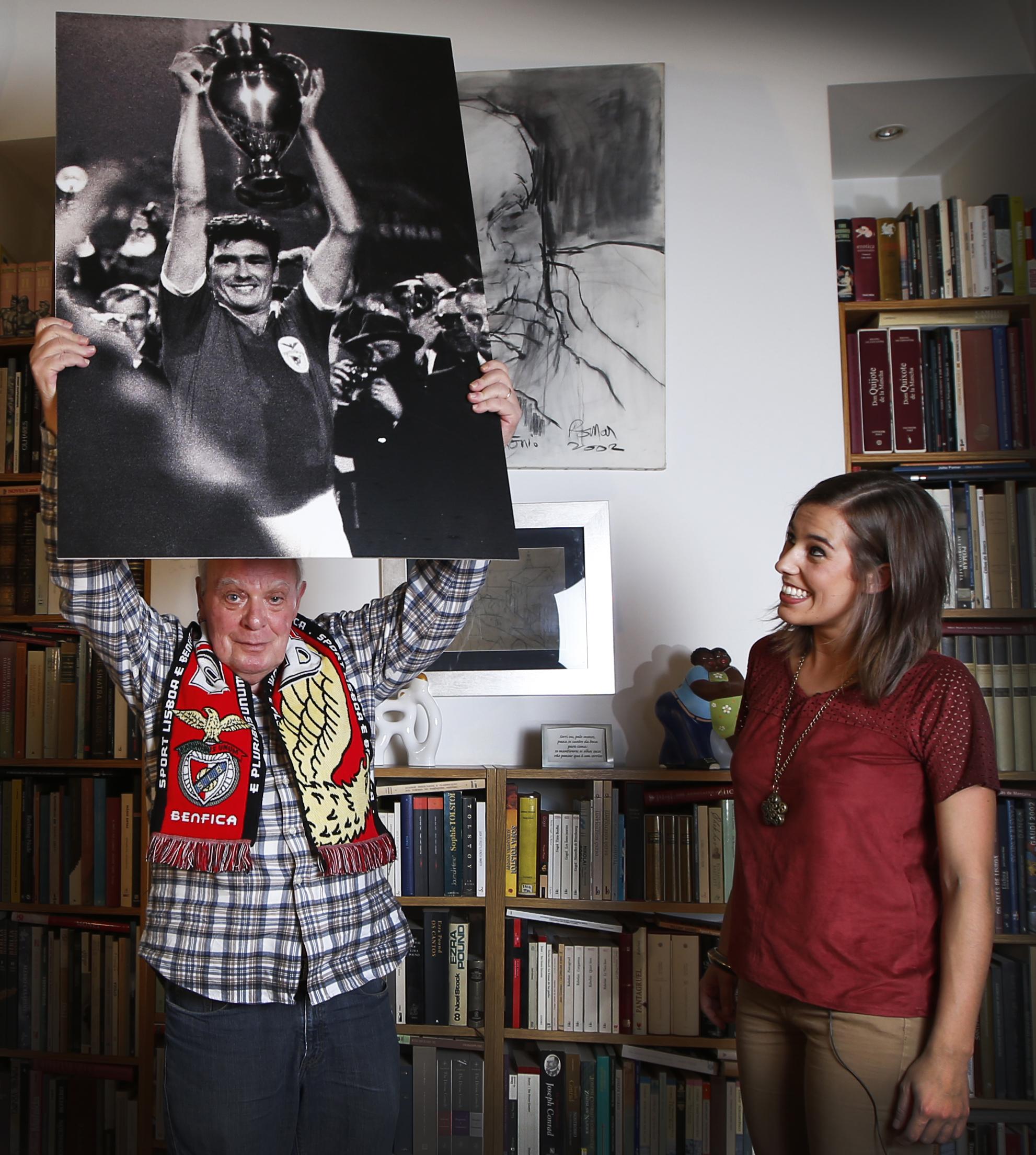 Especial Record Aniversário - Entrevista com o escritor António Lobo Antunes, em sua casa