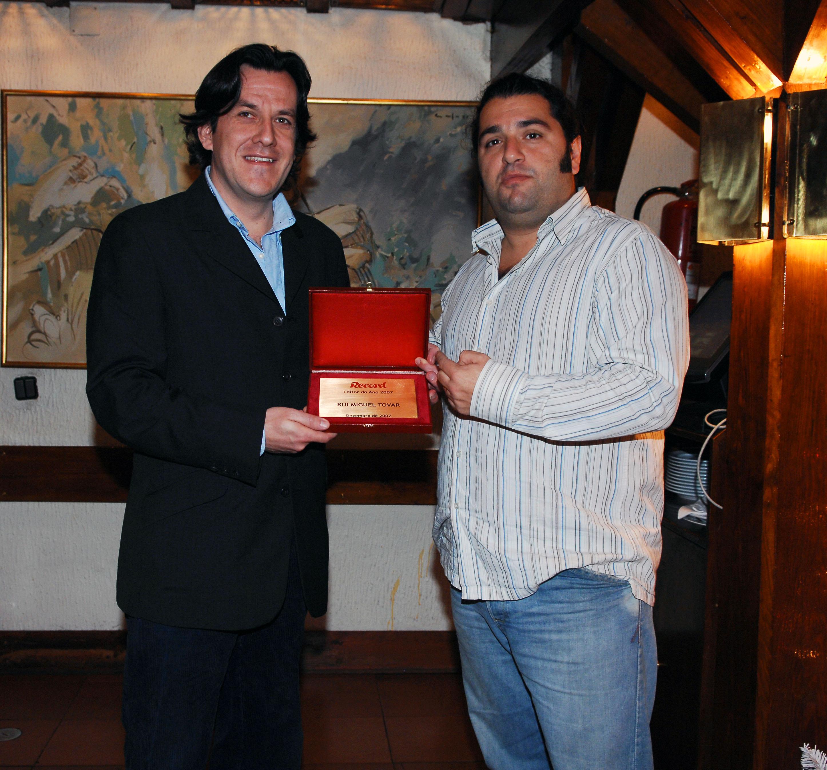 Entrega dos premios record 20-12-07 Campolide - Lisboa PEDRO SIMOES